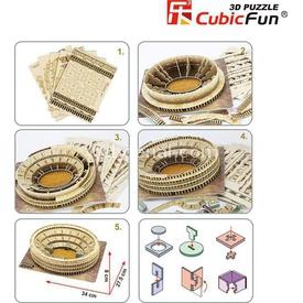 Cubic Fun 3d 84 Parça  Colosseum - Italya Puzzle