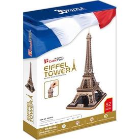 Cubic Fun 3d 82 Parça  Eyfel Kulesi - Fransa Puzzle