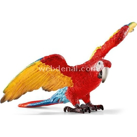 Schleich Amerikan Papağanı Figür 9 Cm Figür Oyuncaklar