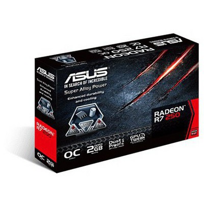 Asus Radeon R7 250 OC 2G Ekran Kartı