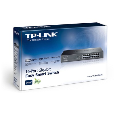 Tp-link TL-SG1016DE 16-Port Gigabit Easy Smart Switch