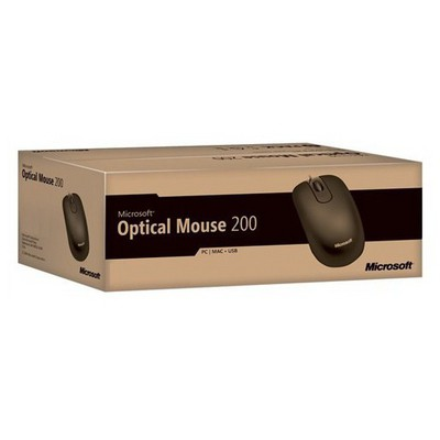 Microsoft JUD-00007 Optik Kablolu  - Siyah Mouse