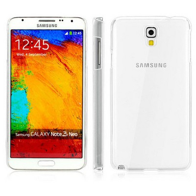 Microsonic Kristal Şeffaf Kılıf - Samsung Galaxy Note 3 Neo N7500 N7505 Cep Telefonu Kılıfı