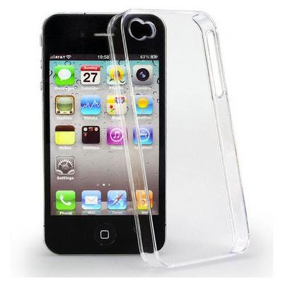 Microsonic Kristal Şeffaf Iphone 4s Kılıf Cep Telefonu Kılıfı