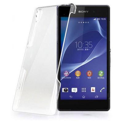 Microsonic Kristal Şefffaf Sony Xperia Z2 Kılıf Cep Telefonu Kılıfı