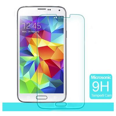 Microsonic Temperli Cam Ekran Koruyucu Samsung Galaxy S5 Ekran Koruyucu Film