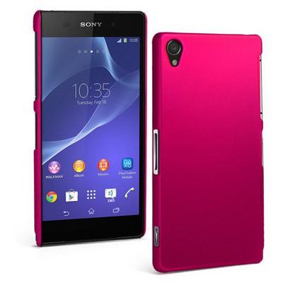 Microsonic Premium Slim Kılıf Sony Xperia Z2 Pembe Cep Telefonu Kılıfı
