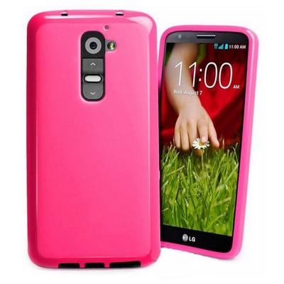 Microsonic Glossy Soft Lg G2 Mini Kılıf Pembe Cep Telefonu Kılıfı