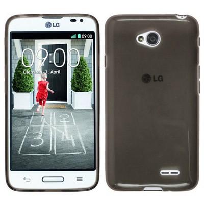 Microsonic Glossy Soft Lg L70 Kılıf Siyah Cep Telefonu Kılıfı