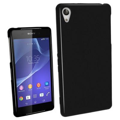 Microsonic Glossy Soft Sony Xperia Z2 Kılıf Siyah Cep Telefonu Kılıfı