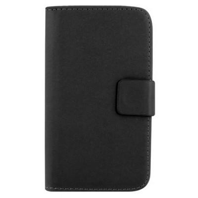 Microsonic Cüzdanlı Deri Lg L70 Kılıf Siyah Cep Telefonu Kılıfı