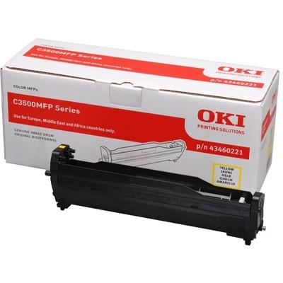 OKI C3500/350/360-y  (43460221) Drum