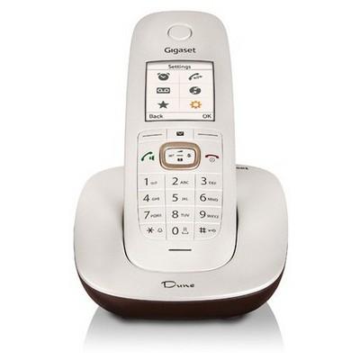 Gigaset Cl540-Beyaz Dect 200 Rehber Caller Id Handsfree