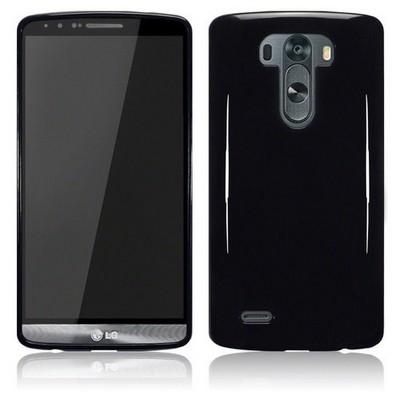 Microsonic Glossy Soft Lg G3 Kılıf Siyah Cep Telefonu Kılıfı