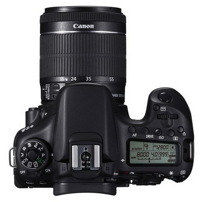 "Canon EOS 70D 20.2Mp 18-55 IS STM Lens Kit  APS-C CMOS DIGIC 5+ 3.0"" Lcd Full HD Dijital SLR Fotoğraf Makinesi"
