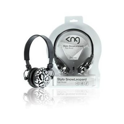 König Kng-5075 Stylo Ego Boost - Snow Leopard Kafa Bantlı Kulaklık