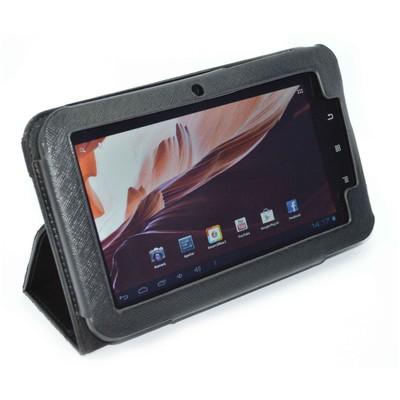 """Codegen Ckl-07 7"""" Tabletler Ile Uyumlu Standlı Deri Tablet Kılıfı Tablet Standı"""