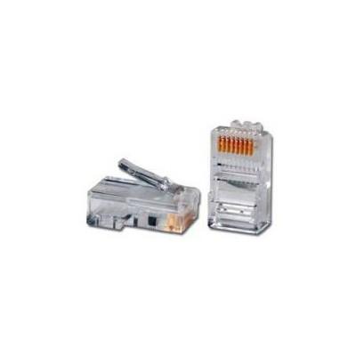 Codegen Cod645, Cat-6 Rj45 Utp Konnektör, 100'lü Paket Network Kablosu