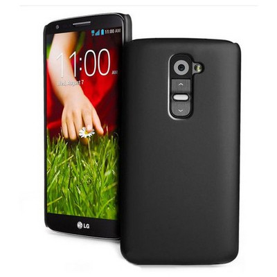 Microsonic Premium Slim Lg G2 Mini Kılıf Siyah Cep Telefonu Kılıfı
