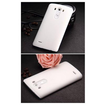 Microsonic Premium Slim Kılıf Lg G3 Beyaz Cep Telefonu Kılıfı