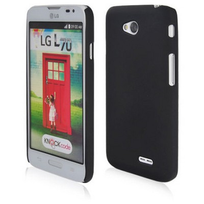 Microsonic Premium Slim Kılıf Lg L70 Siyah Cep Telefonu Kılıfı