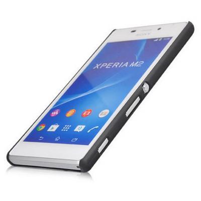 Microsonic Premium Slim Kılıf Sony Xperia M2 Siyah Cep Telefonu Kılıfı