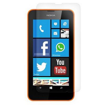 Microsonic Ultra Şeffaf Ekran Koruyucu Nokia Lumia 630 Film Ekran Koruyucu Film