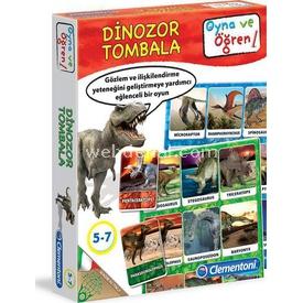 Clementoni Oyna Ve Öğren Dinozor Tombala Eğitici Oyuncaklar