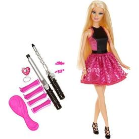 Barbie Büyüleyici Bukleler Tasarım Merkezi Oyun Seti Bebekler