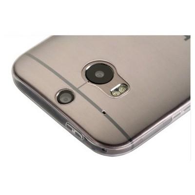 Microsonic Htc One M8 Clear Soft Şeffaf Kılıf Cep Telefonu Kılıfı