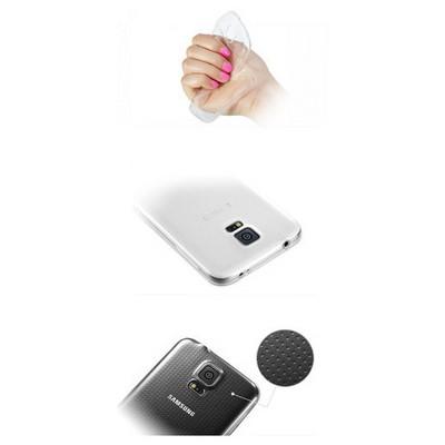 Microsonic Samsung Galaxy S5 Clear Soft Şeffaf Kılıf Cep Telefonu Kılıfı