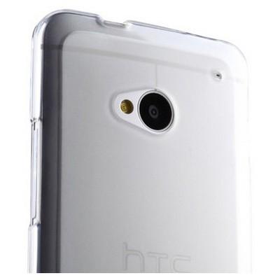 Microsonic Htc One M7 Clear Soft Şeffaf Kılıf Cep Telefonu Kılıfı