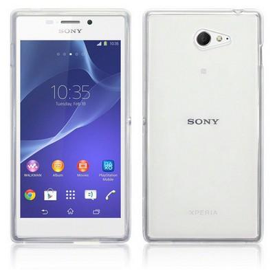 Microsonic Sony Xperia M2 Clear Soft Şeffaf Kılıf Cep Telefonu Kılıfı