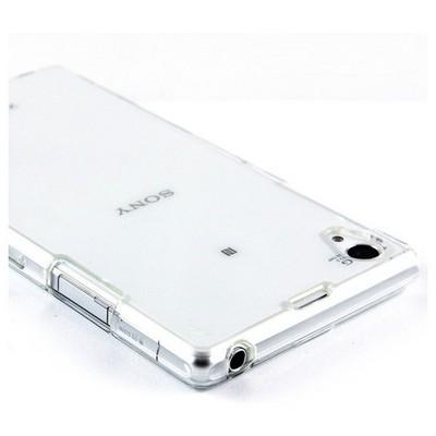 Microsonic Sony Xperia Z1 Clear Soft Şeffaf Kılıf Cep Telefonu Kılıfı