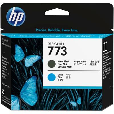 HP 773 Mat Siyah/Mavi Designjet Baskı Kafası C1Q20A