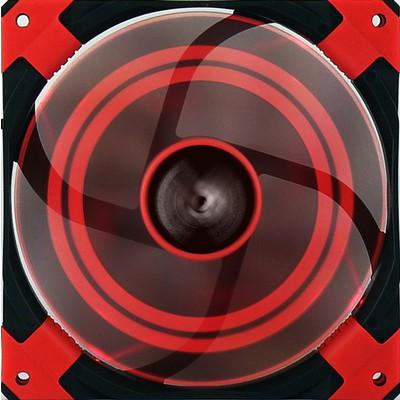 Aerocool Dead Silent 12cm Kırmızı Kasa Fanı (AE-CFDS120RD)