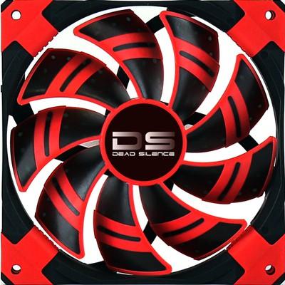 Aerocool Dead Silent 14cm Kırmızı Kasa Fanı (AE-CFDS140RD)