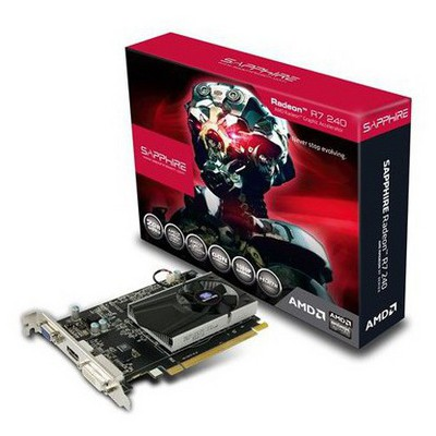 Sapphire Radeon R7 240 2G D3 Ekran Kartı (11216-00)