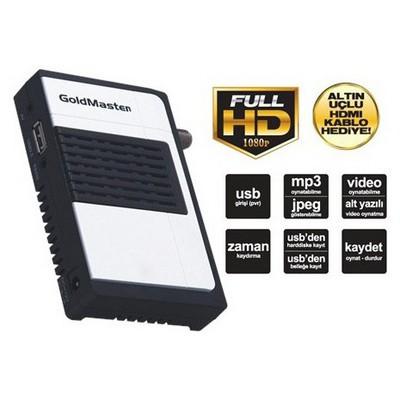 Goldmaster Micro-titan Hd Pvr Dijital Uydu Alıcı Media Player