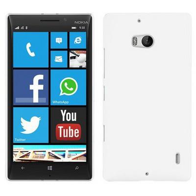 Microsonic Premium Slim Nokia Lumia 930 Kılıf Beyaz Cep Telefonu Kılıfı
