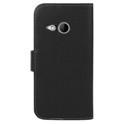 Microsonic Cüzdanlı Deri Htc One Mini 2 Kılıf Siyah Cep Telefonu Kılıfı