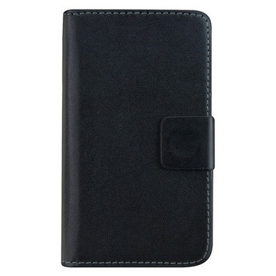 Microsonic Cüzdanlı Deri Sony Xperia E1 Kılıf Siyah Cep Telefonu Kılıfı