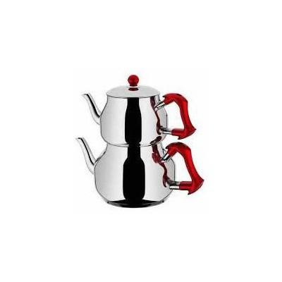 Taç Asya Orta  Takımı Kırmızı Çaydanlık