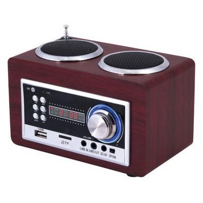 Goldmaster Sr-122 Taşınabilir Hoparlörlü Radyolu Oynatıcı MP3 Çalar & Radyo