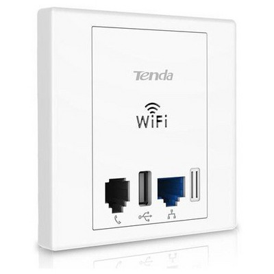 Tenda W312a Priz Tipi 1port Wifi-n 300mbps Poe Ap Access Point / Repeater