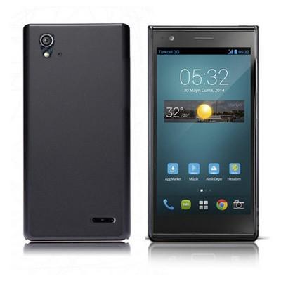 Microsonic Premium Slim Turkcell T50 Kılıf Siyah Cep Telefonu Kılıfı