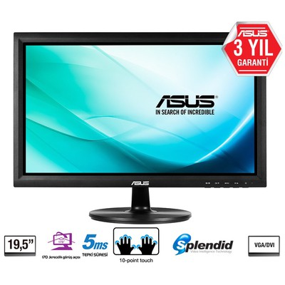 "Asus VT207N 19.5"" 5ms LED Monitör"