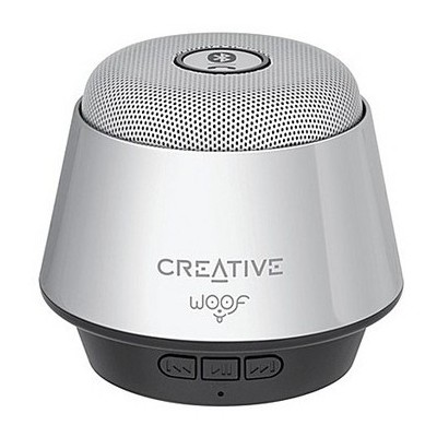 Creative MF8210 WOOF Gümüş Bluetooth Taşınabilir Hoparlör Speaker
