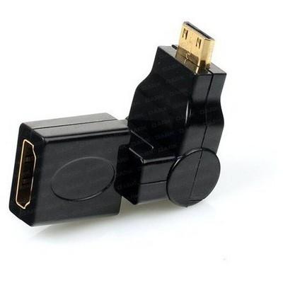 Dark Dk-hd-afxmm270 270 Derece Dönebilen Hdmı Dişi - Mini Hdmı Erkek Dönüştürücü Soket Çevirici Adaptör