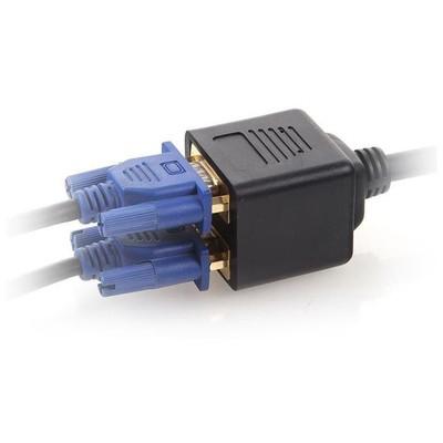 Dark DK-HD-AVGAX2VGA 2x VGA Çoklayıcı Splitter Ses ve Görüntü Kabloları